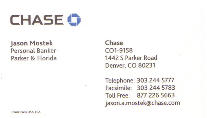 Chase com business cards payment gallery card design and card template business cards mls photograph others reheart gallery reheart Image collections