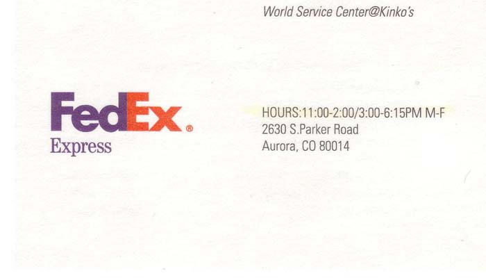 Fed Ex Kinko s Interior submited images